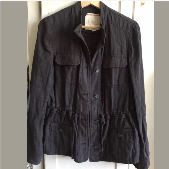 Anthropologie Jackets & Blazers - Anthropologie Hei Hei Military Utility Jacket